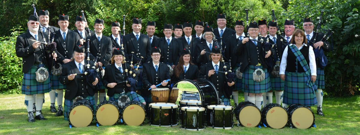 Pipe Band in Weilerswist